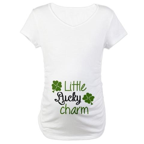 poorly dressed,St Patrick's Day,t shirts,pregnant,maternity clothes