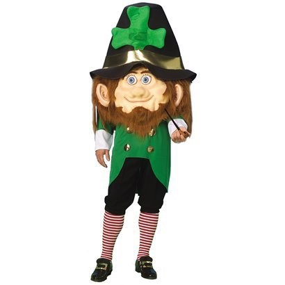 costume,poorly dressed,St Patrick's Day,leprechaun