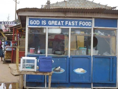 god is great food fast food - 8106358528