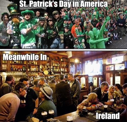 usa drinking Ireland funny