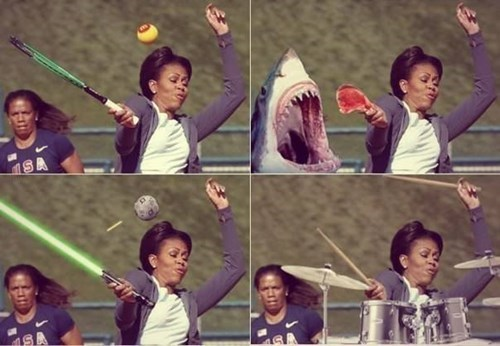 Memes talented Michelle Obama funny - 8106479104
