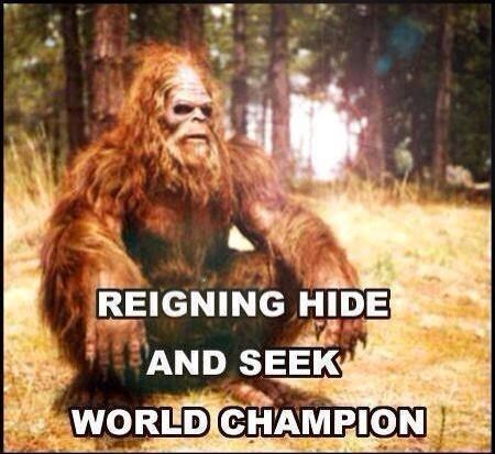 hide and seek big foot funny