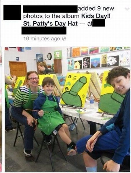 art kids St Patrick's Day parenting facebook g rated - 8106513920