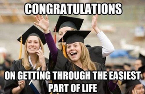 congratulations,high school,Big Deal,funny