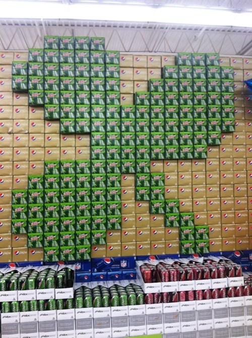 monday thru friday shamrock pop St Patrick's Day soda work grocery store - 8106540288