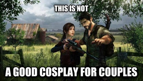 cosplay,the last of us,couples