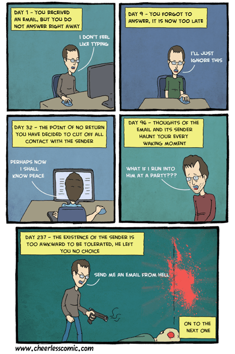 email e-mail etiquette manners sad but true web comics - 8106571520