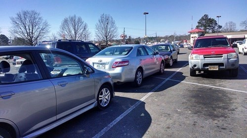 cars douchebag parkers parking revenge g rated win - 8106642432