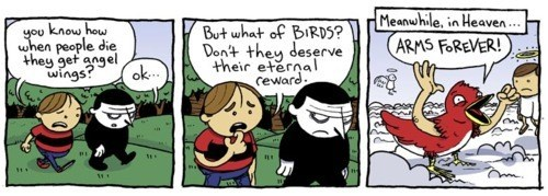 birds,heaven,web comics