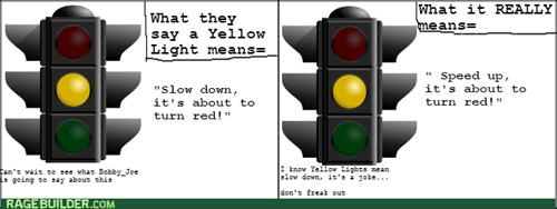 Yellow Traffic Lights