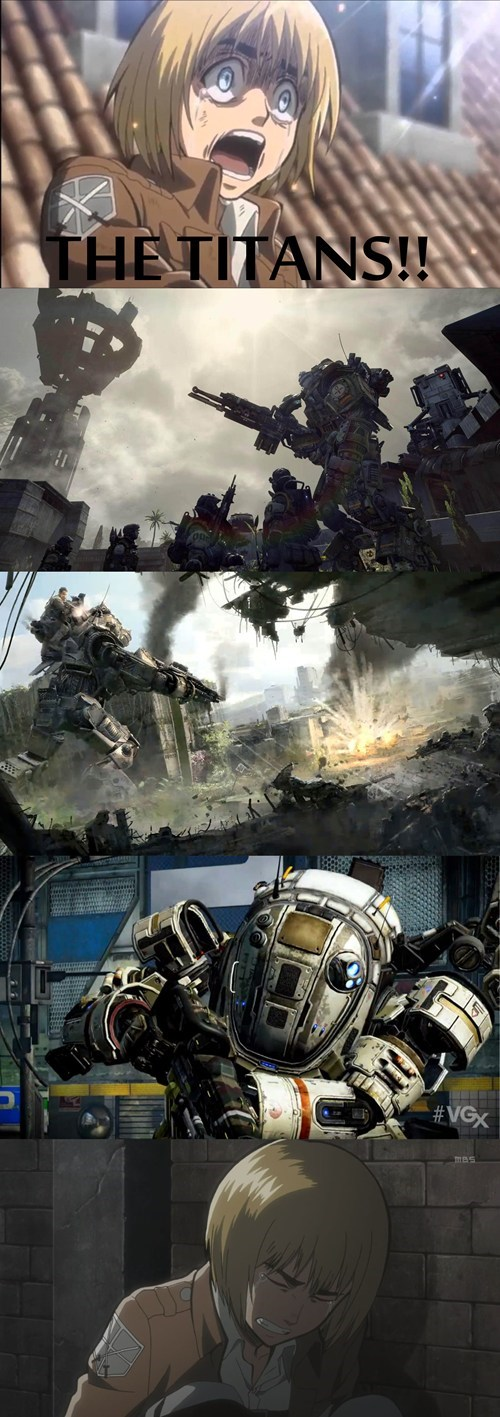 titanfall,anime,attack on titan,video games