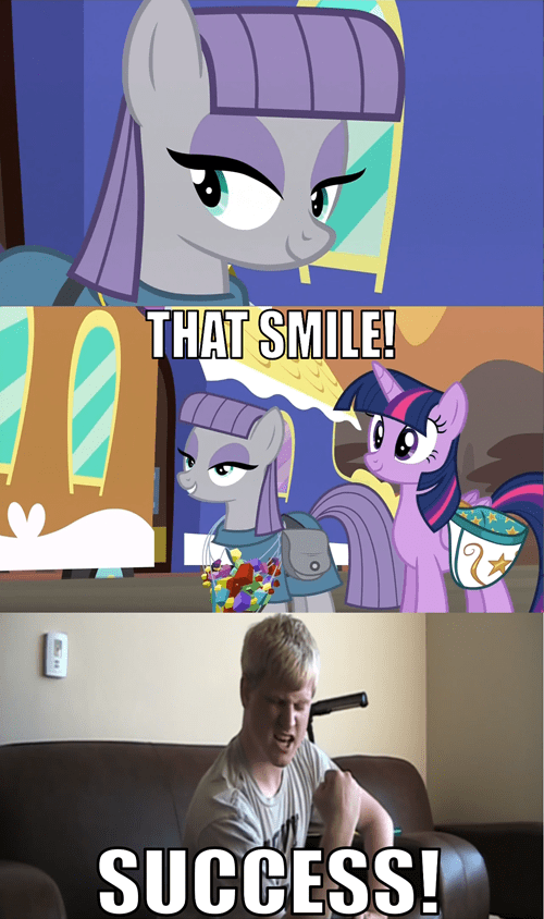 rare,maud pie,smile