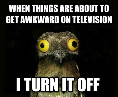 tv shows Awkward peculiar potoo TV - 8108555264