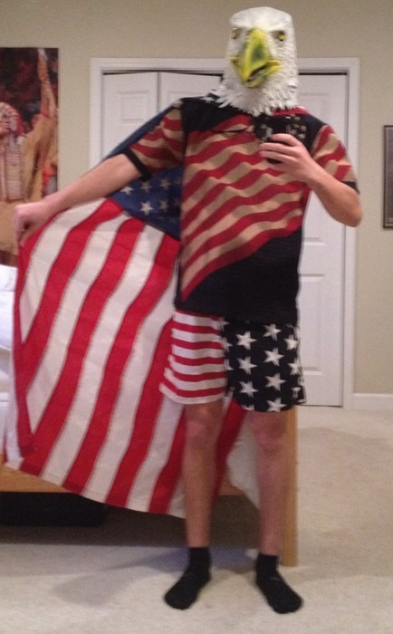 costume,halloween costumes,eagles,murica eagle