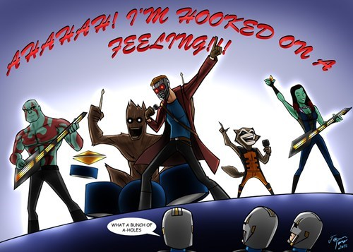 Music Fan Art guardians of the galaxy - 8108651008