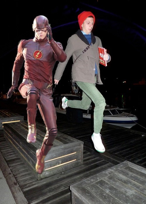 michael cera,running,the flash