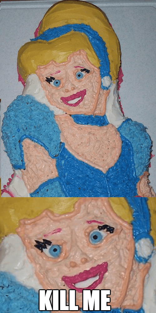 cake kill me disney cinderella cartoons - 8109173760