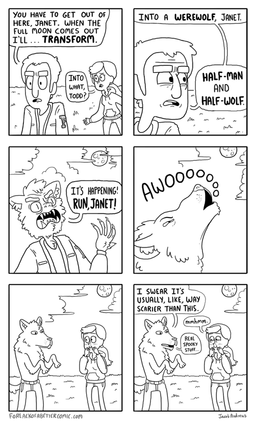 werewolves unfortunate web comics - 8109281024