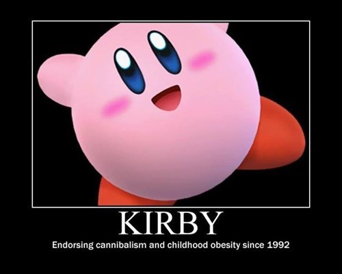 kirby cannibalism funny - 8109520640