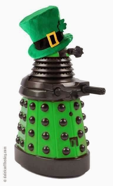 green St Patrick's Day daleks - 8109642752