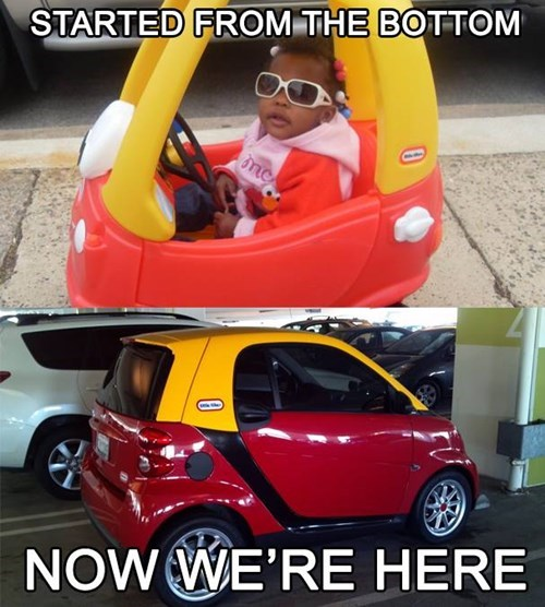 little tikes,Drake,started from the bottom