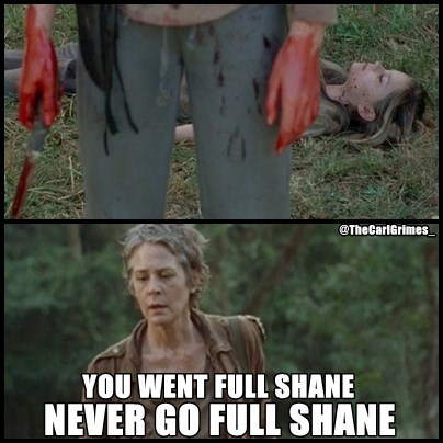 carol peletier,lizzie is crazy,shane walsh