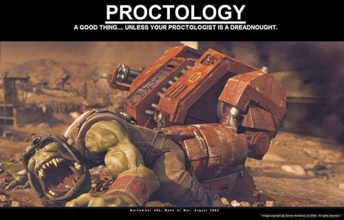 dreadnought,proctology