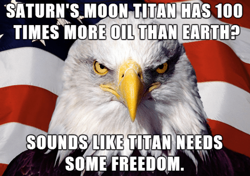 murica eagle,titan,oil,Saturn