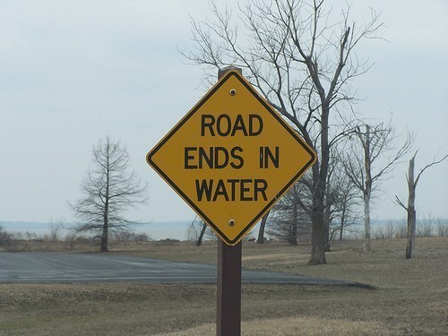 dead end signs - 8109812480