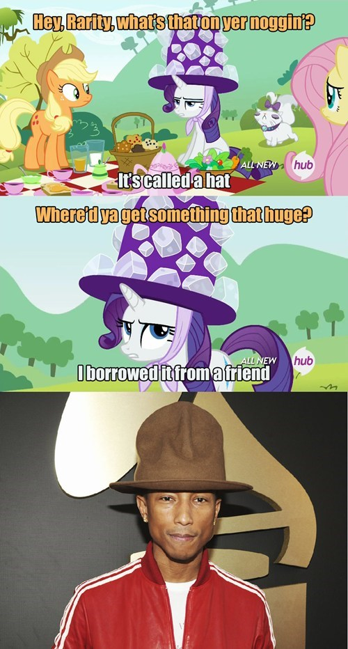 hat rarity pharrell - 8109938432