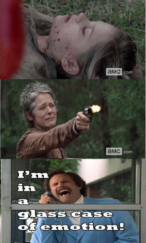 Ron Burgundy carol peletier lizzie is crazy - 8109985024