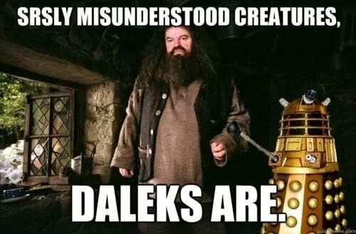 Harry Potter daleks Hagrid - 8110077440