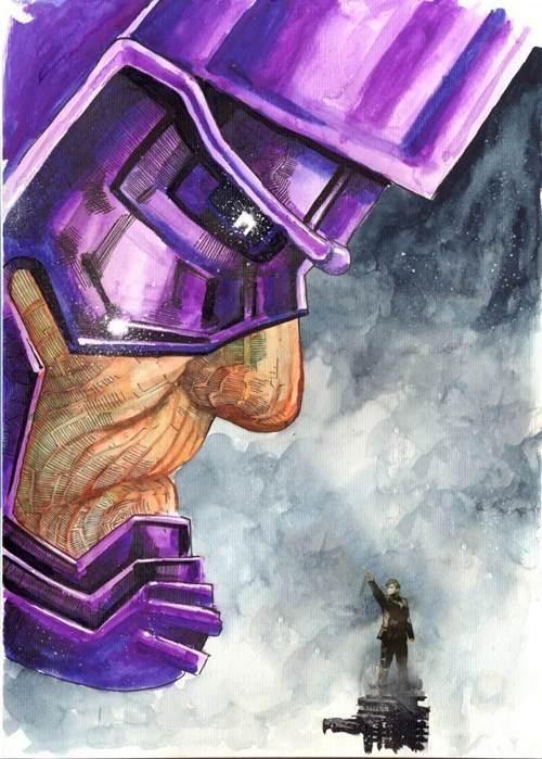 Fan Art 10th doctor galactus - 8110134784