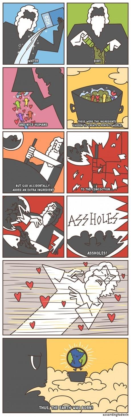 god sad but true earth web comics - 8110191104