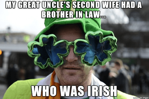 St Patrick's Day irish argument idiots - 8110191616
