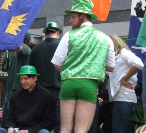 drunk St Patrick's Day booty funny - 8110201600