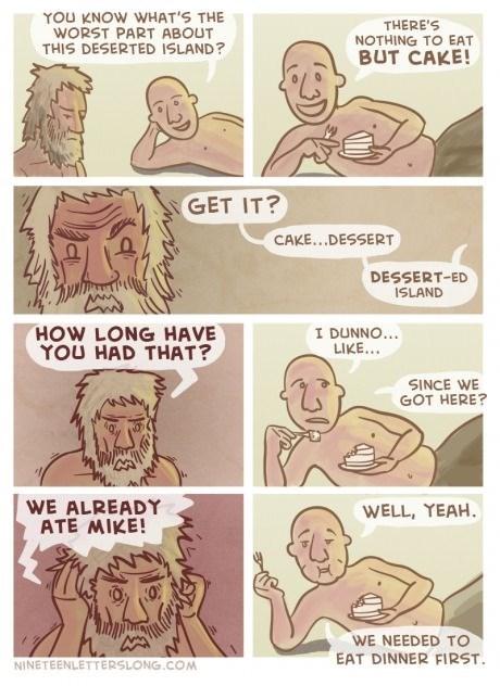 cannibalism island puns web comics - 8110202112