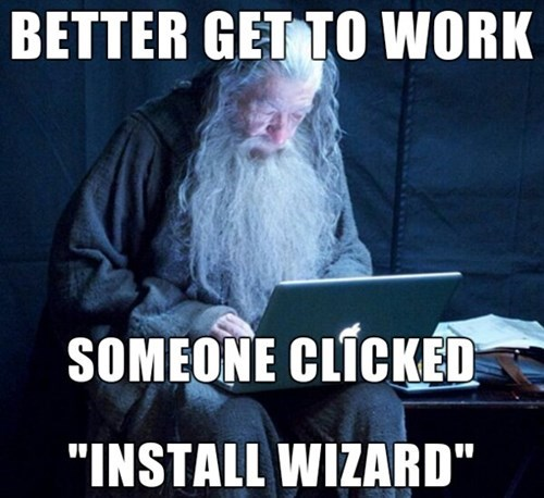 monday thru friday Lord of the Rings work gandalf wizard Memes - 8110251008