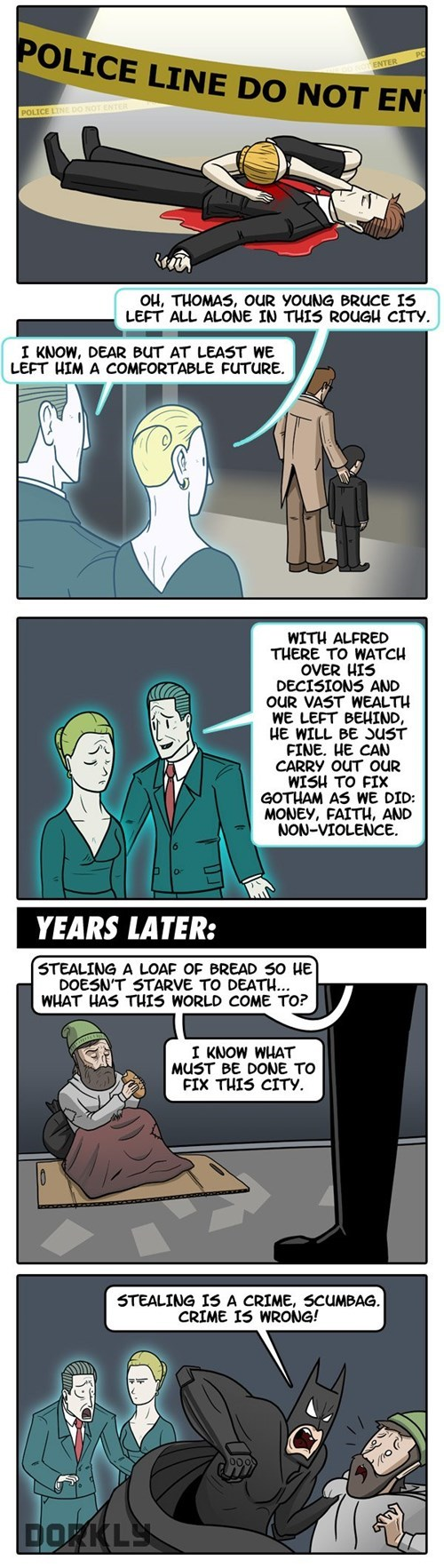 dorkly,batman,web comics