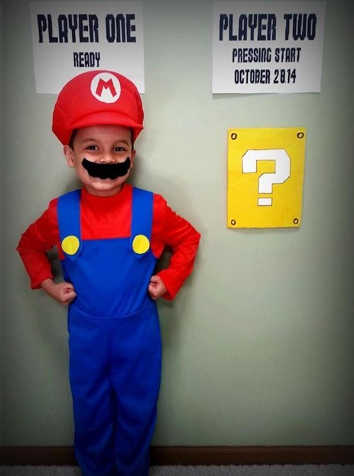 cosplay parenting video games Super Mario bros