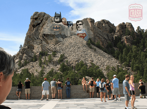 superheroes batman Mount Rushmore - 8110384896