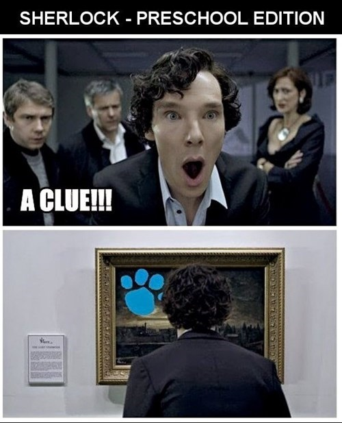 moriarty,blues clues