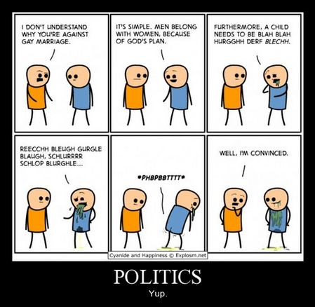 speech funny politics