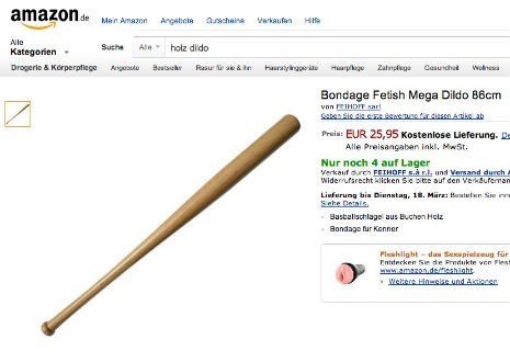 Only in Germany Would a Baseball Bat be Sold as... This.