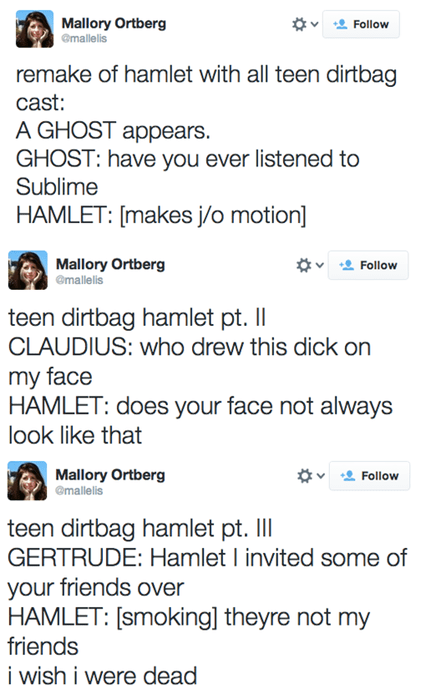 twitter shakespeare hamlet failbook g rated - 8110505472