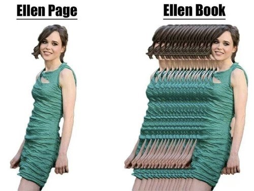 ellen page books bad puns - 8110517248