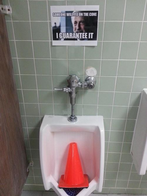 monday thru friday traffic cone urinal work g rated - 8110536704