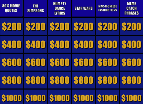 Jeopardy - 8110617600