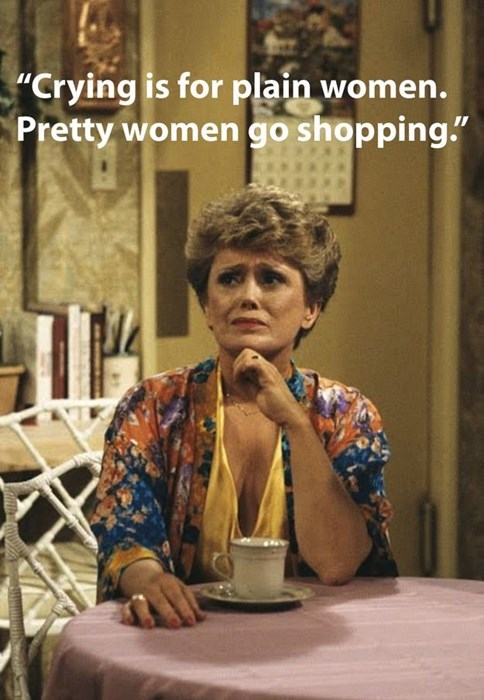 shopping,blanch,golden girls,funny