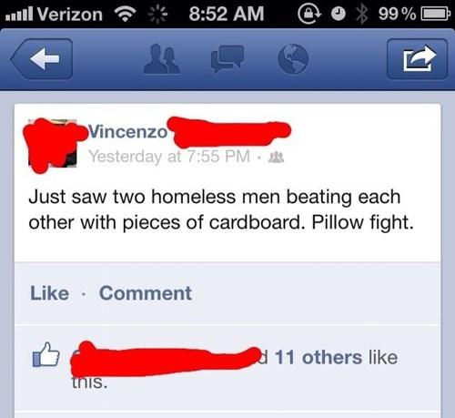 ouch homeless burn - 8110763008